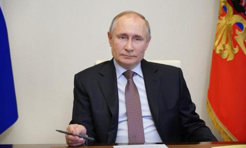 Путин сдал декларацию о доходах