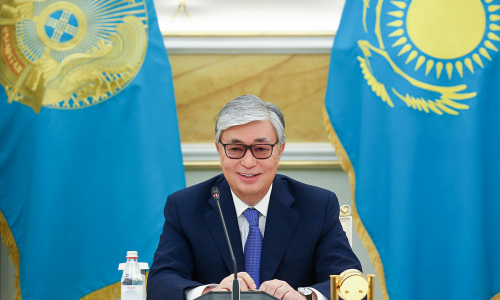 В каком особняке проживает президент Казахстана