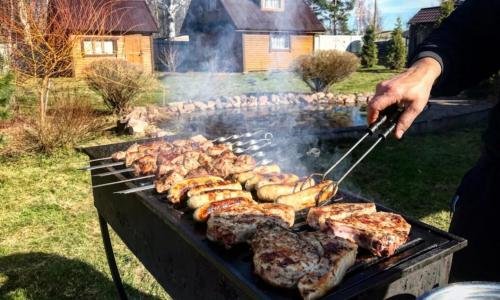 Россиянам рассказали, как далеко от дачного дома можно жарить шашлык