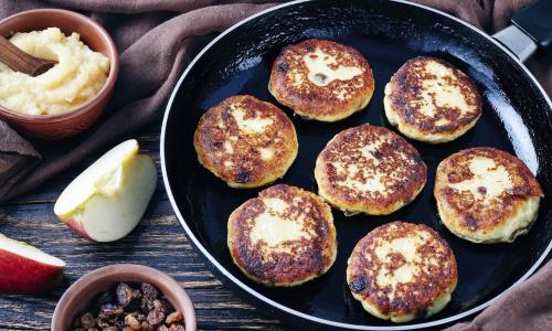 Как приготовить очень вкусные и красивые сырники